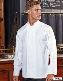 Essential Long Sleeve Chefs Jacket Premier Workwear PR901