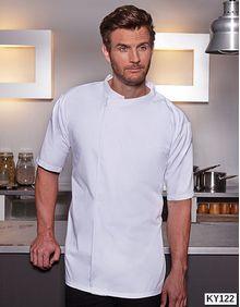Short-Sleeve Throw-Over Chef Shirt Basic Karlowsky BJM 3