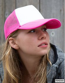 Detroit ½ Mesh Truckers Cap Result Headwear RC089X