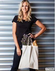 Cotton Bag, Fairtrade-Cotton, short handles Printwear