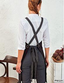 Cross Back Interchangable Apron Straps Premier Workwear PR119