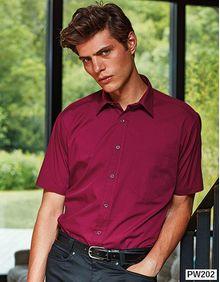 Poplin Short Sleeve Shirt (koszula męska) Premier Workwear PR202