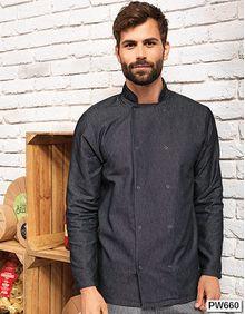 Denim Chefs Jacket Premier Workwear PR660
