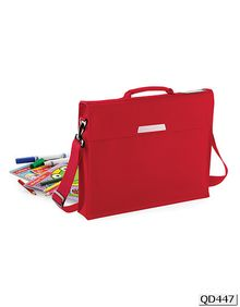 Academy Book Bag With Shoulder Strap Quadra QD447