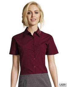Bluza z krótkim rękawem Popeline Escape SOL´S 16070