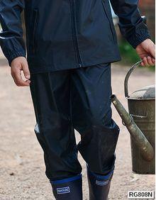 Kids Pro Stormbreak Waterproof Overtrousers Regatta TRW808