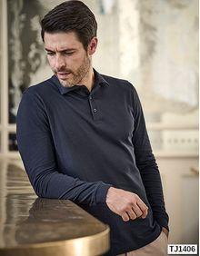 Męska koszulka polo z długim rękawem Luxury Stretch Tee Jays 1406