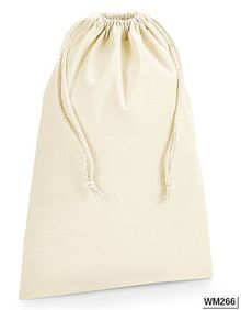 Organic Premium Cotton Stuff Bag Westford Mill W266
