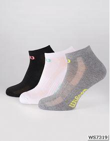 Ladies Trainer Line Socks (3er Pack) Wilson S7007319