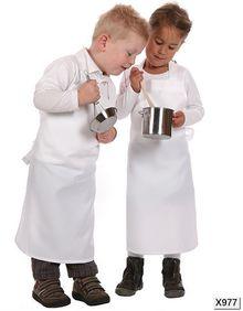 Sublimacyjny Fartuch Dziecięcy Barbecue Link Sublime Textiles BBQ6050PES