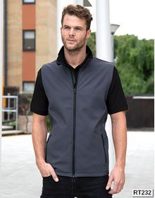 Printable Soft Shell Bodywarmer Result Core R232M