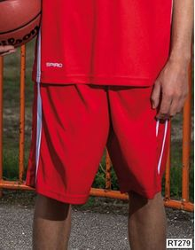 Basketball Mens Quick Dry Short SPIRO S279M