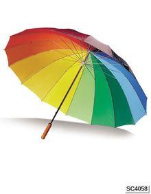 Parasol Portier 16 segmentów Printwear