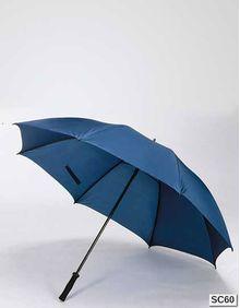 Parasol z włókna szklanego i miękkim uchwytem Printwear