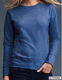 Damska bluza French Terry Anvil 72000L