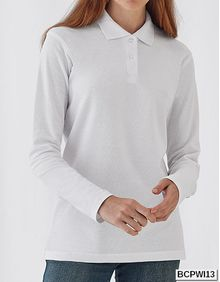 Long Sleeve Polo ID.001 / Women B&C PWI13