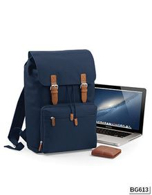 Vintage Laptop Backpack BagBase BG613