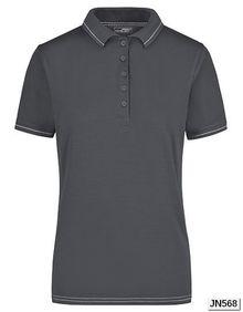 Damska koszulka polo Elastic James+Nicholson JN 568