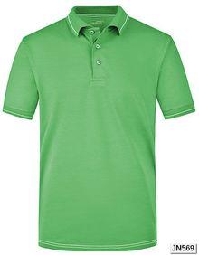 Męska koszulka polo Elastic James+Nicholson JN 569