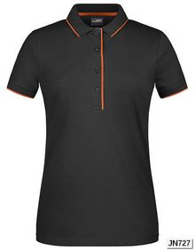 Ladies' Polo Stripe James+Nicholson JN727