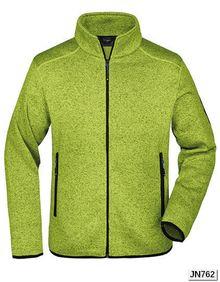 Men´s Knitted Fleece Jacket James+Nicholson JN762