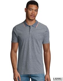 Mens Heather Polo Shirt Paname SOL´S 02081