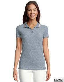 Womens Heather Polo Shirt Paname SOL´S 02082