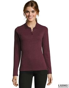 Womens Long-Sleeve Piqué Polo Shirt Perfect SOL´S 02083