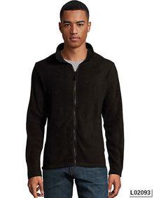 Mens Plain Fleece Jacket Norman SOL´S 02093
