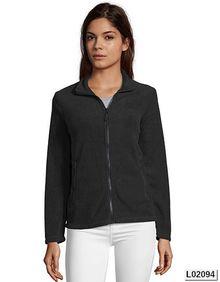 Womens Plain Fleece Jacket Norman SOL´S 02094