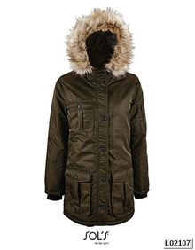 Womens Warm And Waterproof Jacket Ryan SOL´S 02107