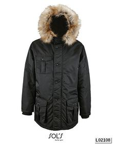 Mens Warm and Waterproof Jacket Ryan SOL´S 02108