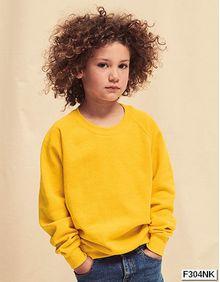 Nowa bluza dziecięca Kids Raglan Sweat Fruit of the Loom 62-039-0