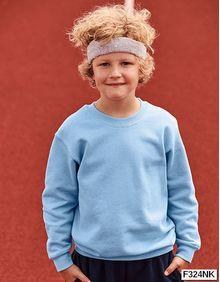 Nowa bluza dziecięca Kids Set-In Sweat Fruit of the Loom 62-041-0