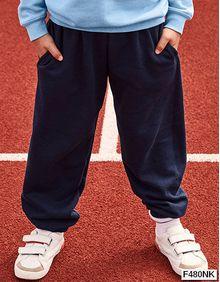 Nowe dziecięce spodnie New Kids Jog Pants Fruit of the Loom 64-051-0