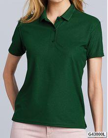 Performance Ladies Double Piqué Sport Shirt Gildan 43800L