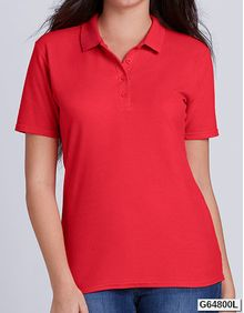 Gildan Softstyle® Ladies' Double Piqué Polo Gildan 64800L