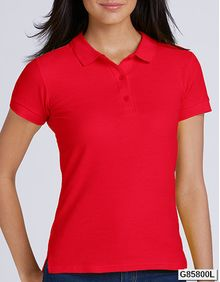 Premium Cotton® Ladies` Double Piqué Polo Gildan 85800L