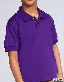 Koszulka polo DryBlend Youth Jersey Gildan 8800B