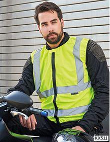 Biker Safety Vest EN ISO 20471 Korntex KXMOTOG