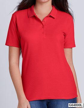 Gildan Softstyle® Ladies' Double Piqué Polo Gildan 64800L
